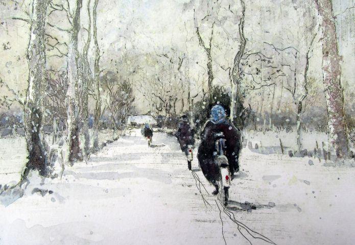 Wintergasten bij Museum Schoonewelle